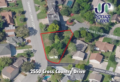 Spruce Creek Fly In Residential Lots & Land For Sale: 2550 Cross Country Drive