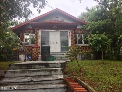 Volusia County Multi Family Home For Sale: 134 N Peninsula Drive
