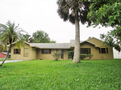 Ormond Beach FL Single Family Home For Sale: $187,000