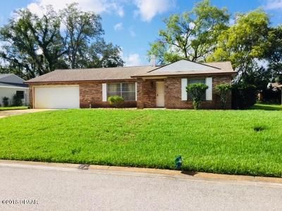 Ormond Beach FL Single Family Home For Sale: $205,000
