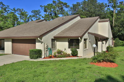 Volusia County Attached For Sale: 150 Fox Fire Circle