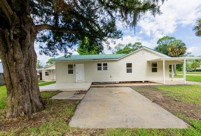 Bunnell FL Single Family Home For Sale: $214,900