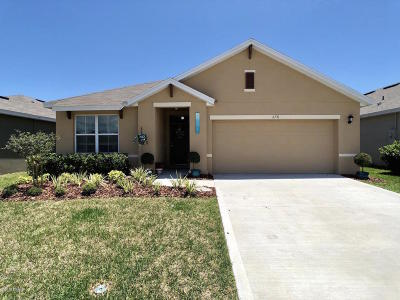 Volusia County Single Family Home For Sale: 2731 Star Coral Lane