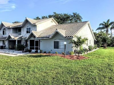 Volusia County Attached For Sale: 3560 Forest Branch Drive #F