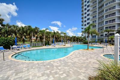 Daytona Beach Shores Condo/Townhouse For Sale: 2 Oceans West Boulevard #1405