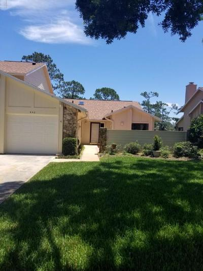 Volusia County Attached For Sale: 640 Brown Pelican Drive