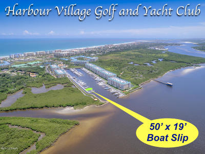 Ponce Inlet Boat Slip For Sale: 4621 Rivers Edge Village Lane #4