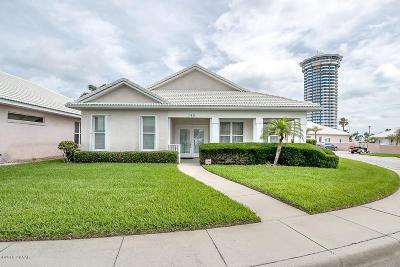 Daytona Beach Shores Single Family Home For Sale: 140 Key Colony Court