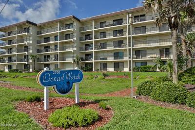 Volusia County Condo/Townhouse For Sale: 2700 Ocean Shore Boulevard #406