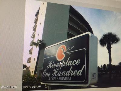 Volusia County Condo/Townhouse For Sale: 100 Silver Beach Avenue #802