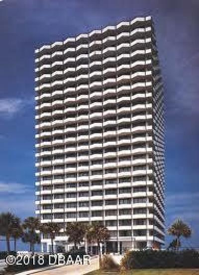 Daytona Beach Condo/Townhouse For Sale: 2900 N Atlantic Avenue #1806