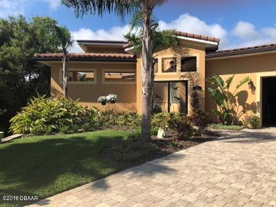 Ponce Inlet Single Family Home For Sale: 39 Caribbean Way