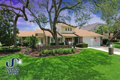 Port Orange Single Family Home For Sale: 1824 Lindbergh Lane