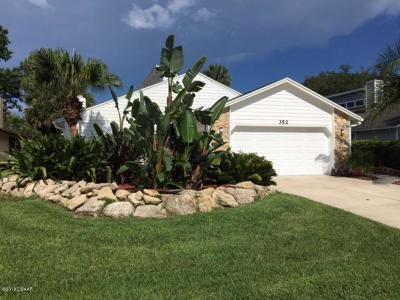 Daytona Beach Single Family Home For Sale: 352 S Gull Drive