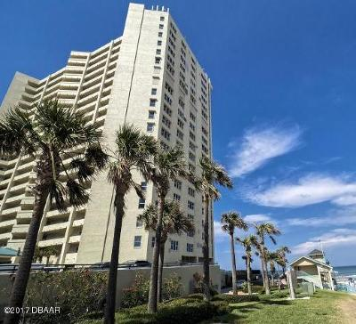 Daytona Beach Condo/Townhouse For Sale: 3425 S Atlantic Avenue #2202