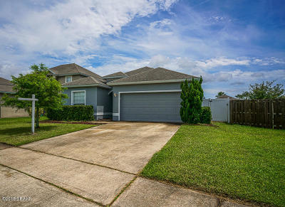 Port Orange Single Family Home For Sale: 5363 Coquina Shores Lane