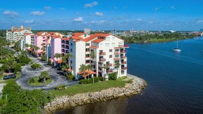 Daytona Beach Condo/Townhouse For Sale: 735 Marina Point Drive #7350