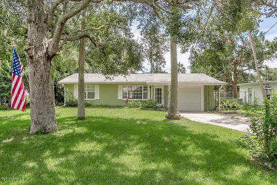 Ormond Beach Single Family Home For Sale: 1575 John Anderson Drive