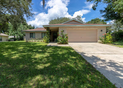 Port Orange Single Family Home For Sale: 778 Tumblebrook Drive