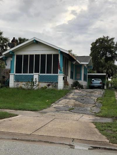 Daytona Beach Single Family Home For Sale: 214 S Oleander Avenue