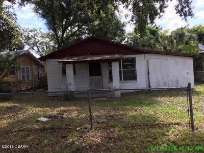 Holly Hill FL Single Family Home For Sale: $49,440