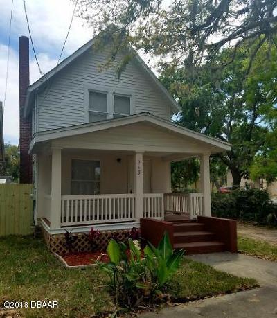 Daytona Beach Multi Family Home For Sale: 213 Loomis Avenue