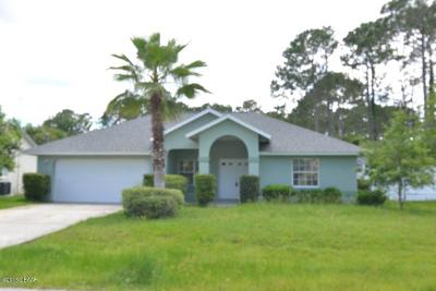 Palm Coast FL Single Family Home For Sale: $222,500