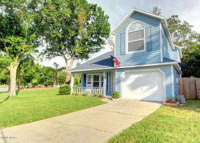 Port Orange Single Family Home For Sale: 1600 Taylorwood Drive