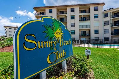 Volusia County Condo/Townhouse For Sale: 2730 Ocean Shore Boulevard #2050