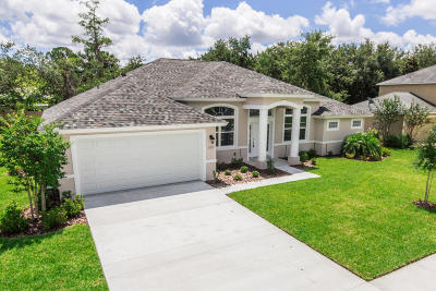 Ormond Beach Single Family Home For Sale: 103 Chrysanthemum Drive