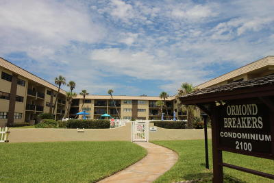 Ormond Beach Condo/Townhouse For Sale: 2100 Ocean Shore Boulevard #2080