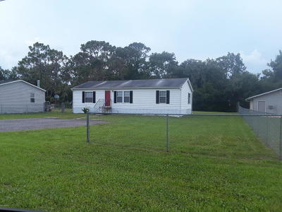 New Smyrna Beach Single Family Home For Sale: 1179 Massey Road