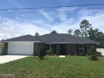 Palm Coast Single Family Home For Sale: 6 Sea Green Path