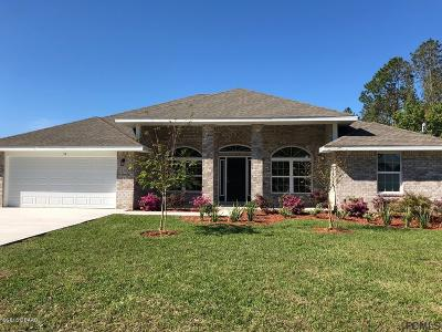 Palm Coast Single Family Home For Sale: 59 Kankakee Trail