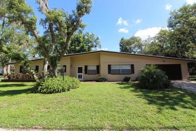 Port Orange Single Family Home For Sale: 5610 Palm Avenue