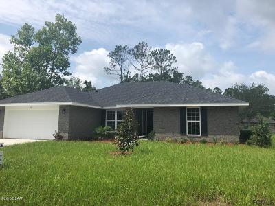 Palm Coast Single Family Home For Sale: 14 Pinwheel Lane