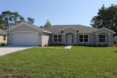 Palm Coast Single Family Home For Sale: 25 Frenora Lane