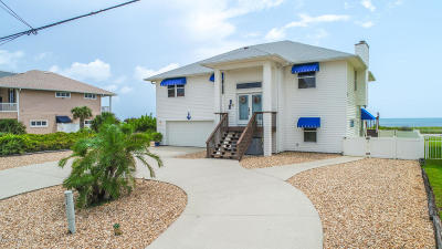 Flagler Beach Single Family Home For Sale: 2716 S Ocean Shore Boulevard
