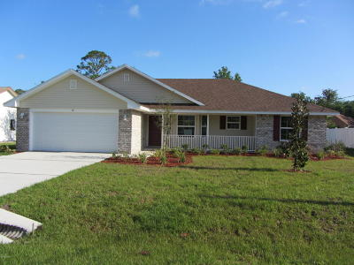 Palm Coast Single Family Home For Sale: 52 Fort Caroline Lane