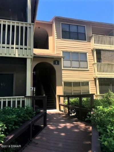 Daytona Beach Condo/Townhouse For Sale: 1401 S Palmetto Avenue #110
