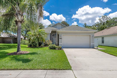 Port Orange Single Family Home For Sale: 5463 Ward Lake Drive