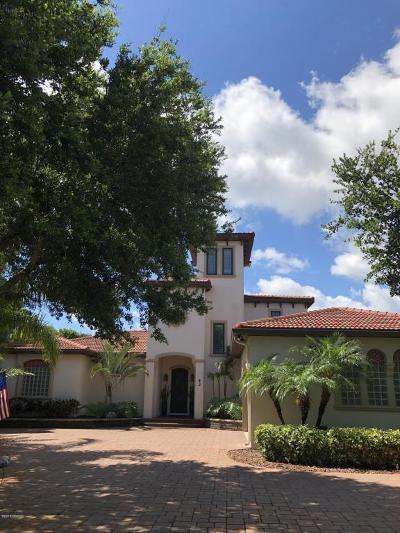 Ponce Inlet Single Family Home For Sale: 43 Coastal Oaks Circle