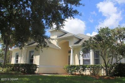 Daytona Beach Single Family Home For Sale: 47 Acclaim At Lionspaw