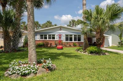 Flagler Beach Single Family Home For Sale: 1412 S Daytona Avenue
