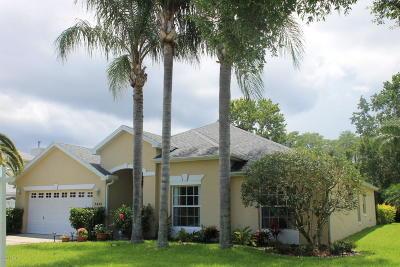 Port Orange Single Family Home For Sale: 5495 St Regis Way