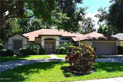 Port Orange Single Family Home For Sale: 6215 Cranberry Drive