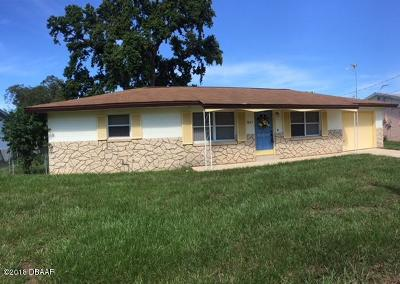 South Daytona Single Family Home For Sale: 1805 James Street
