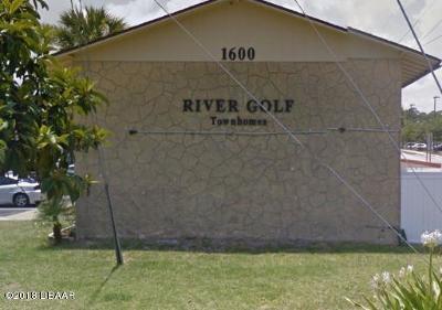 South Daytona Condo/Townhouse For Sale: 1600 S Palmetto Avenue #112