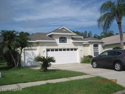 Port Orange Single Family Home For Sale: 1218 Siesta Key Circle