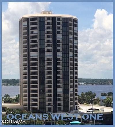 Daytona Beach Shores Condo/Townhouse For Sale: 1 Oceans West Boulevard #11A5